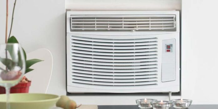 How To Install A Portable Air Conditioner In The Sliding Window